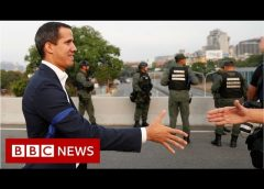 Venezuela's Guaidó appeals to military 'at air force base' – BBC News
