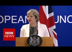 """Brexit Negotiations: Theresa May """"ambitious and positive"""" – BBC News"""