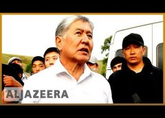 Kyrgyzstan's ex-president barricades himself in at home